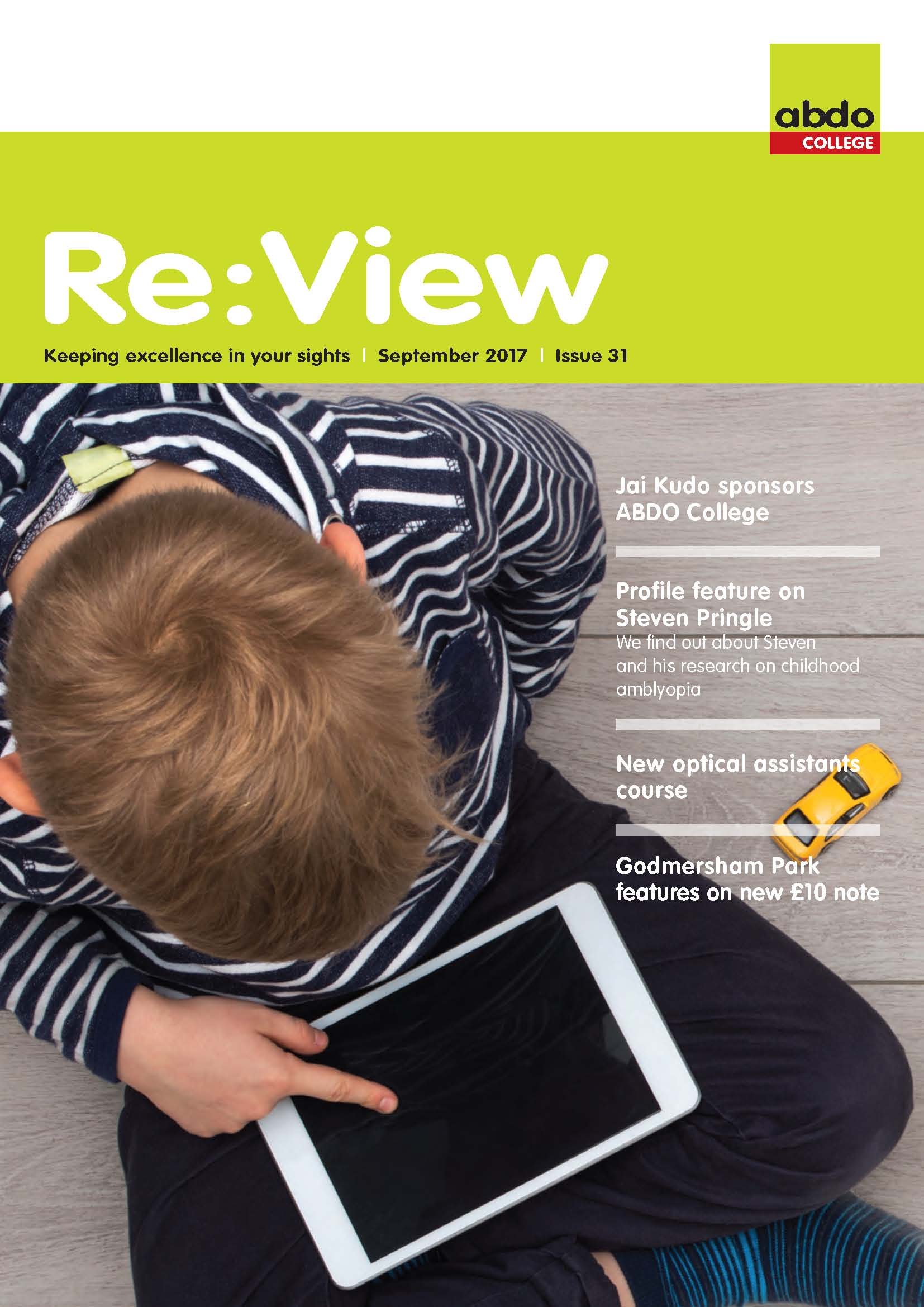 View the latest issue of Re:View - ABDO College