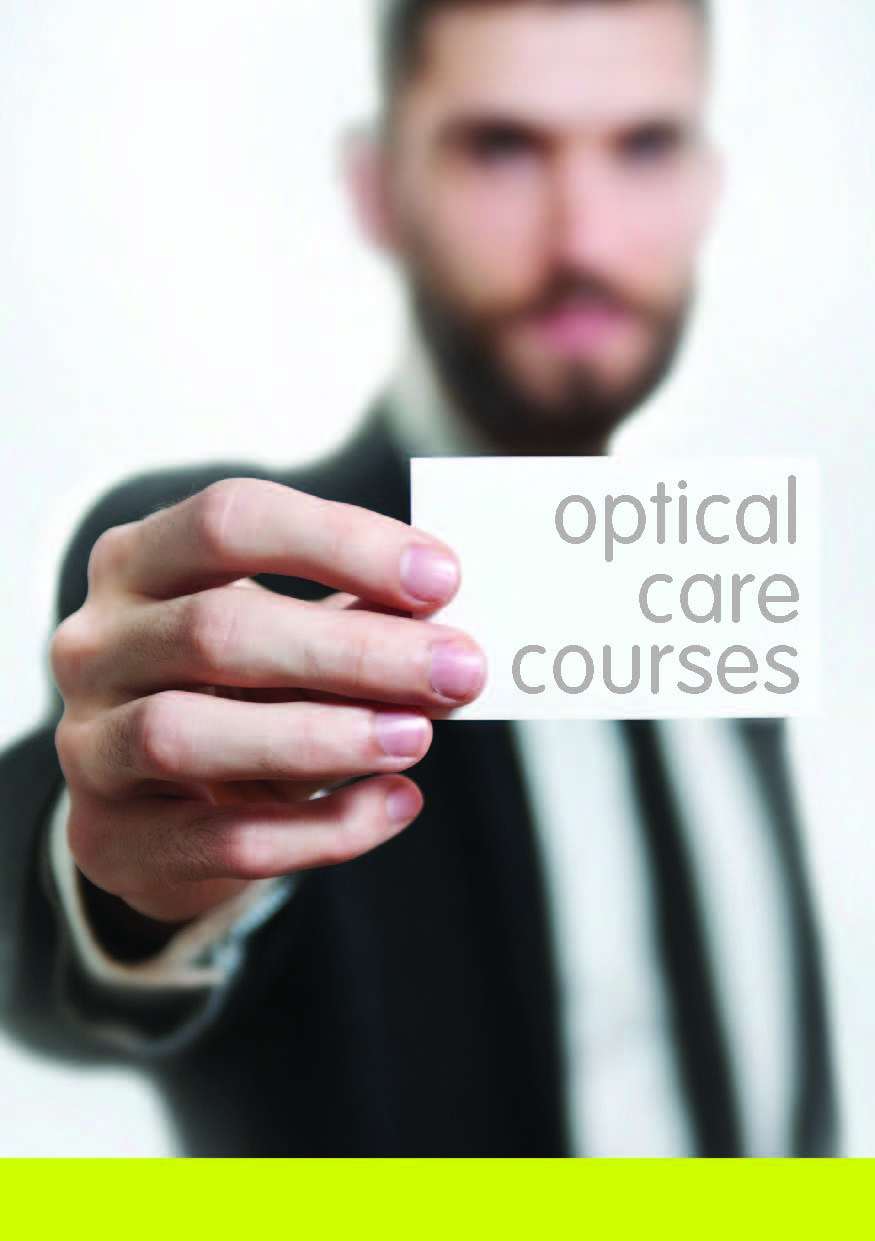 SCQF Level 5 & 7 Optical Care courses