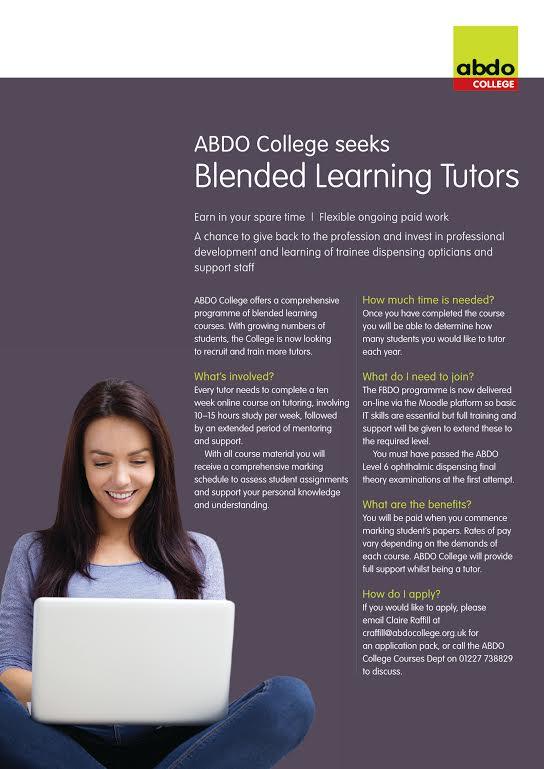 ABDO College seeks Blended Learning Tutors