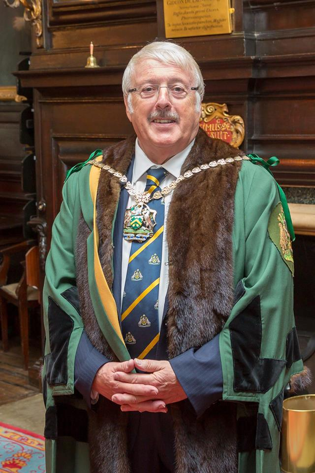 John McGregor installed as new Master of The Worshipful Company of Spectacle Makers
